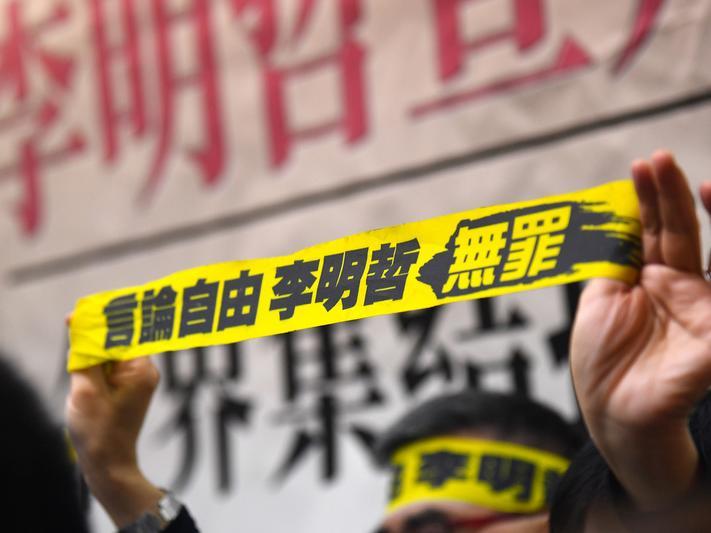 顛覆國家政權罪 李明哲遭判5年