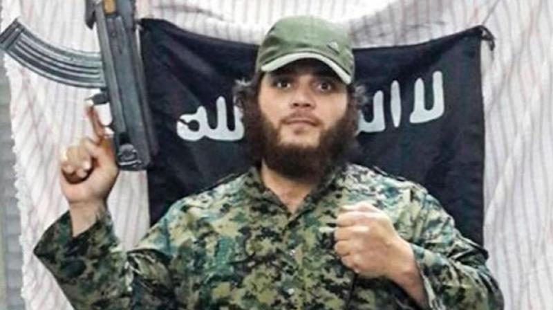 Islamic State terrorist Khaled Sharrouf (pictured) and his two eldest sons were killed in a US air strike on Syria in 2017. Source: 7News