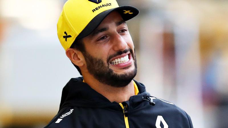 Daniel Ricciardo, pictured here before the Japanese Grand Prix.