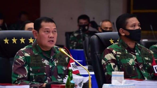 Laksamana Yudo Margono Tutup Latihan Militer Armada Jaya TNI AL