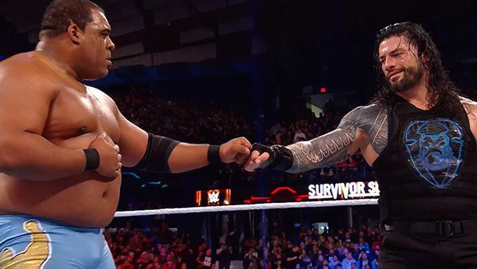 Pegulat WWE, Keith Lee (kiri). (Twitter Keith Lee)