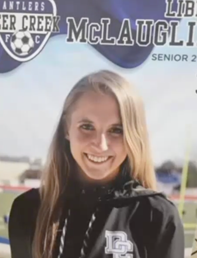 Libby McLaughlin was one of the seven students to become sick. Source: News on 6