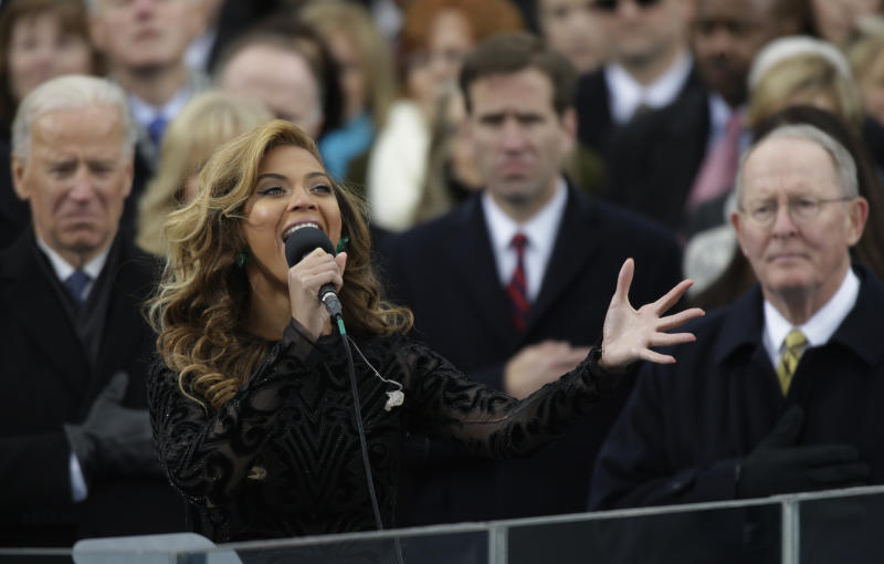 Did Beyonce Lip-Synch At The Inauguration?