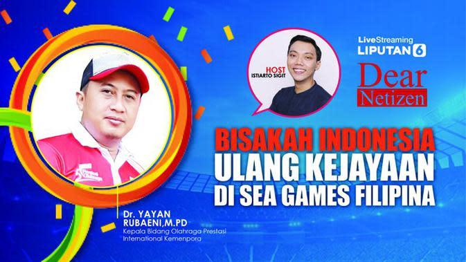 Dear Netizen: Bisakah Indonesia Ulang Kejayaan di SEA Games Filipina?
