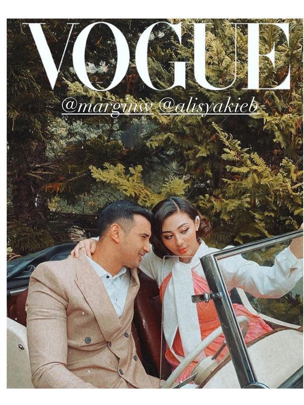 Prewedding Ali Syakieb dan kekasih (Sumber: Instagram/slamwiyono)