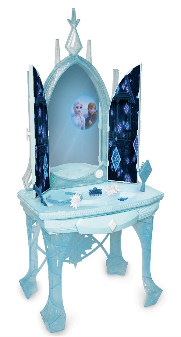 Disney Frozen II Elsa's Interactive Feature Vanity. (Photo: Walmart)