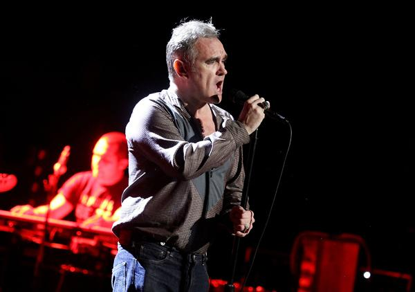 Morrissey Induces Swooning in Boston Tour Opener