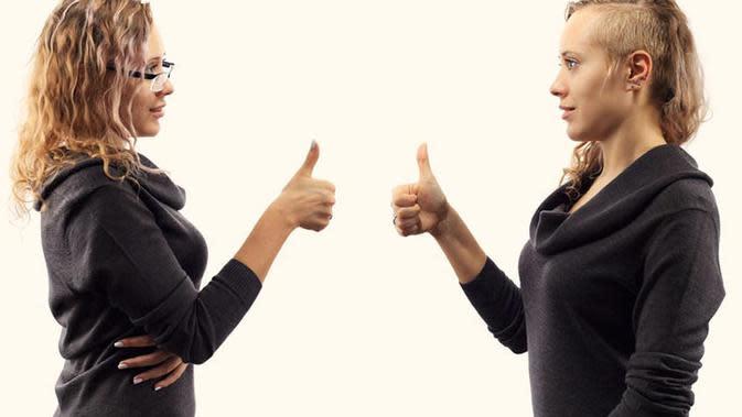 Membiasakan positif self-talk