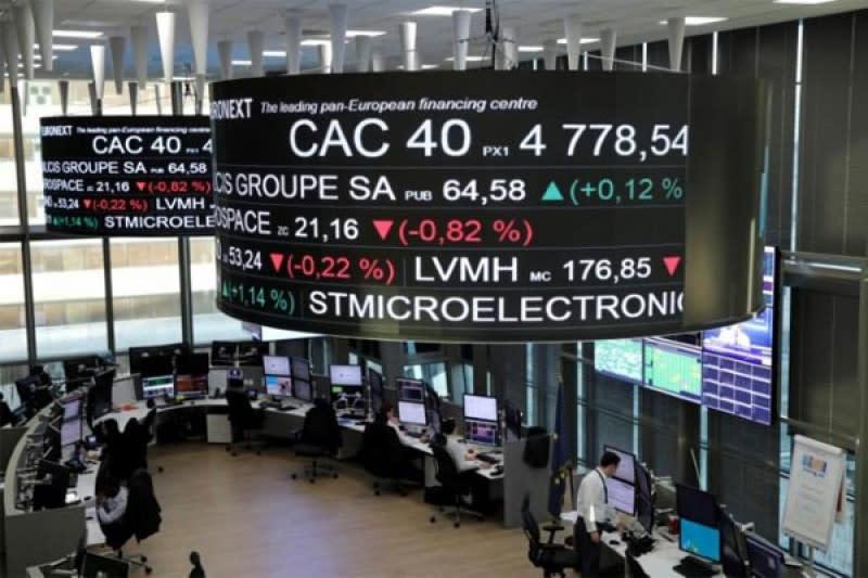 Indeks CAC-40 Prancis terangkat 1,70 persen pada akhir perdagangan