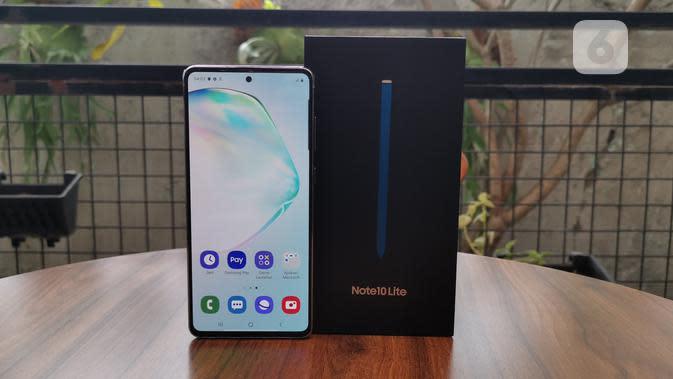 Samsung Akan Gelar Peluncuran Galaxy Note 20 via Live Stream