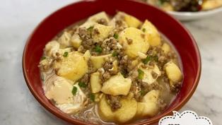 [簡易下飯菜] 肉碎玉子豆腐