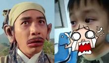 男童吃自家種葡萄「腫成香腸嘴」 網憋笑:歐陽鋒?