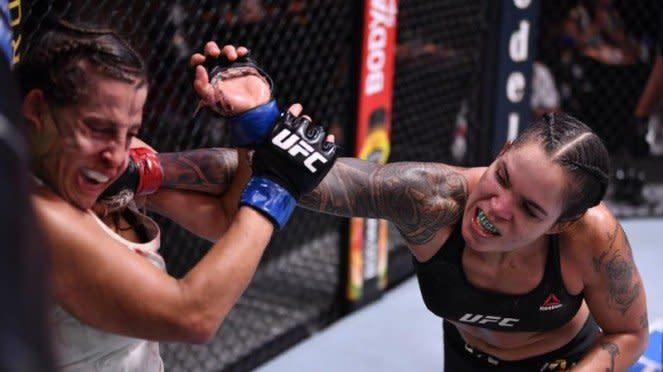 Duel Amanda Nunes versus Felicia Spencer di UFC 250