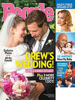 Drew Barrymore's wedding photo and details of her 'perfect' day