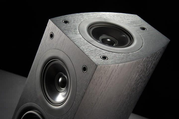 A Pioneer Dolby Atmos-enabled speaker