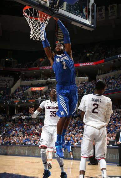 AAC Basketball Tournament - Quarterfinal Round - Connecticut v Memphis