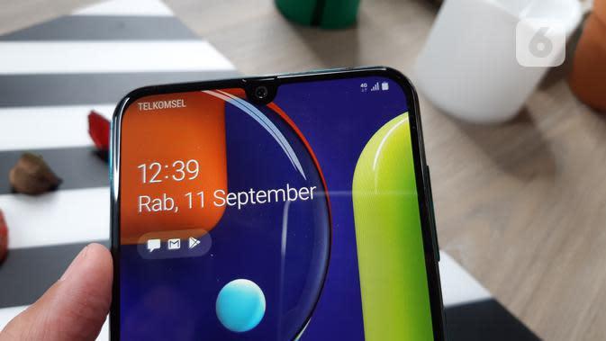 Review Galaxy A50s, Lancar Ngegim dan Bisa Isi E-Money Pakai NFC