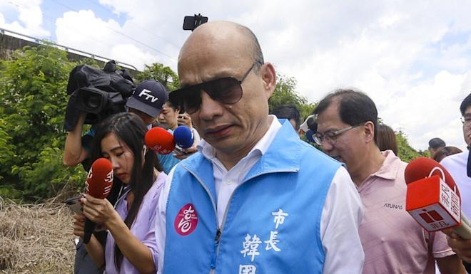 Han Kuo-yu lost the recall vote by an overwhelming majority. Photo: CNA