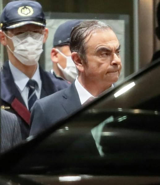 Ghosn has been released on bail