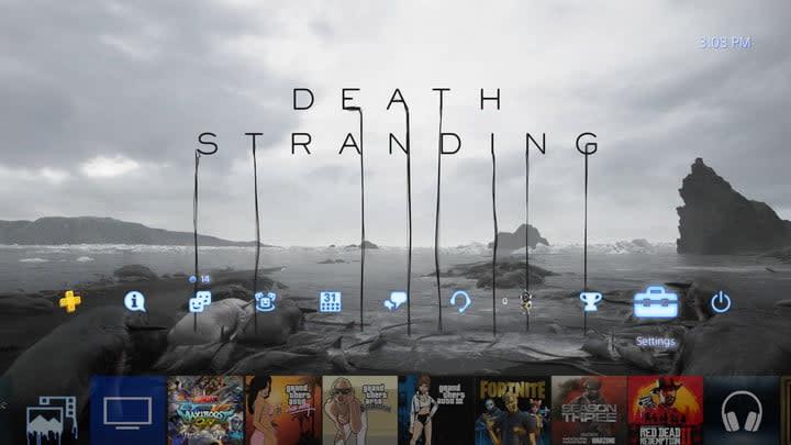 PS4 Gamesharing Homescreen