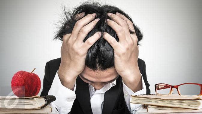 Berikut tiga cara realistis agar tidak stres dalam menghadapi pekerjaan sehingga tidak mengganggu kehidupan pribadi Anda. (Foto: iStockphoto)