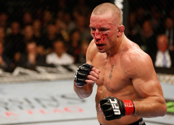 Georges St-Pierre says he is going to take a break, vacates UFC welterweight title