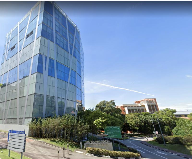Mochtar Riady Building, NUS (Screencap: Google Streetview)