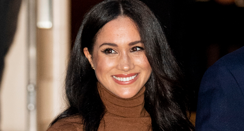 Meghan, Duchess of Sussex. (Photo by Mark Cuthbert/UK Press via Getty Images)