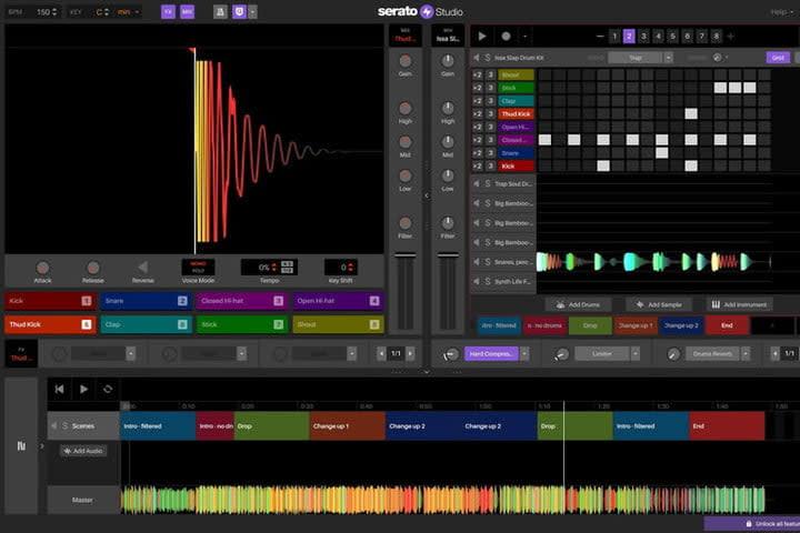 Serato Studio press screenshot