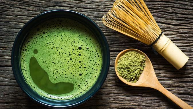Matcha atau teh hijau (iStockphoto)
