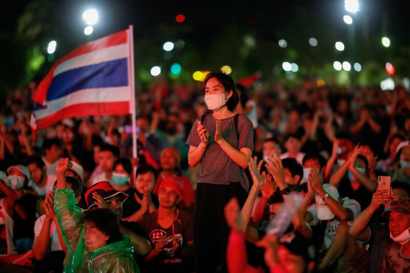 Biggest Thai protest in years cheers calls to reform monarchy