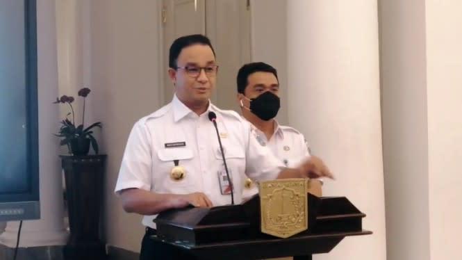 Berkaca dari Kasus Sekda DKI, Anies Minta Warga Tertib Pakai Masker