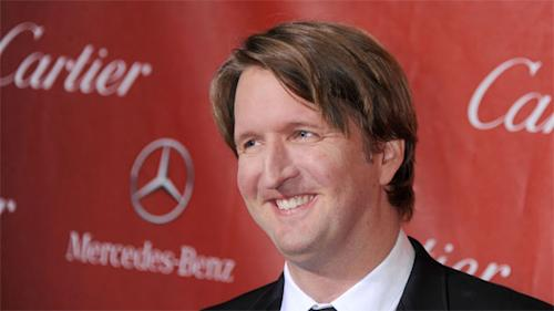 """Behind the Scenes: Newly anointed Directors Guild of America nominee Tom Hooper: """"Whew!"""""""