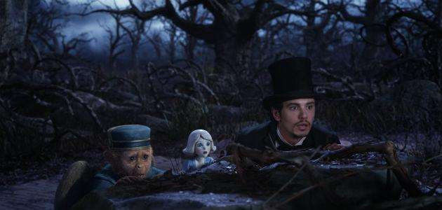 James Franco learned to pull rabbits from hats for Oz role