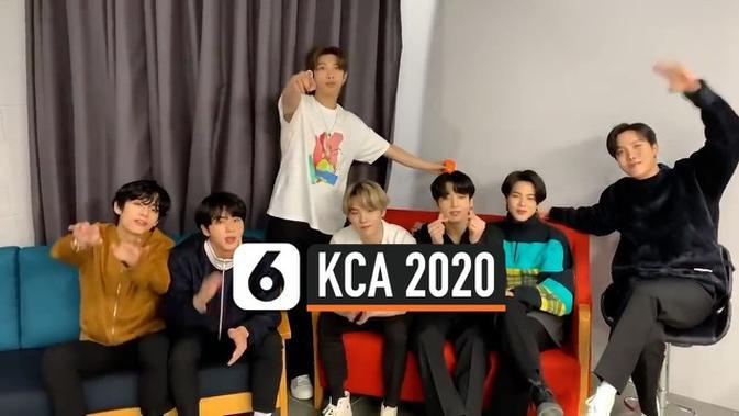 VIDEO: BTS jadi Grup Musik Terfavorit Kids Choice Awards 2020