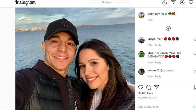 Rodrigo dan Mari Martinez (Instagram)