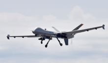 美國死神無人機演練對北京斬首?50年來頭一遭臂章秀中國地圖