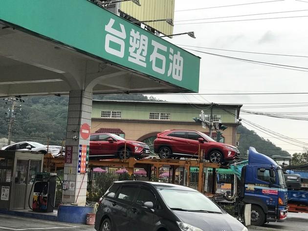 直擊Mitsubishi Eclipse Cross現身新竹山區!!!