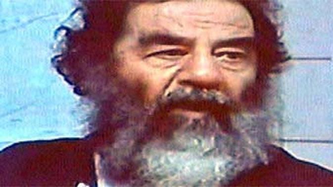 Saddam Husein. (AP)