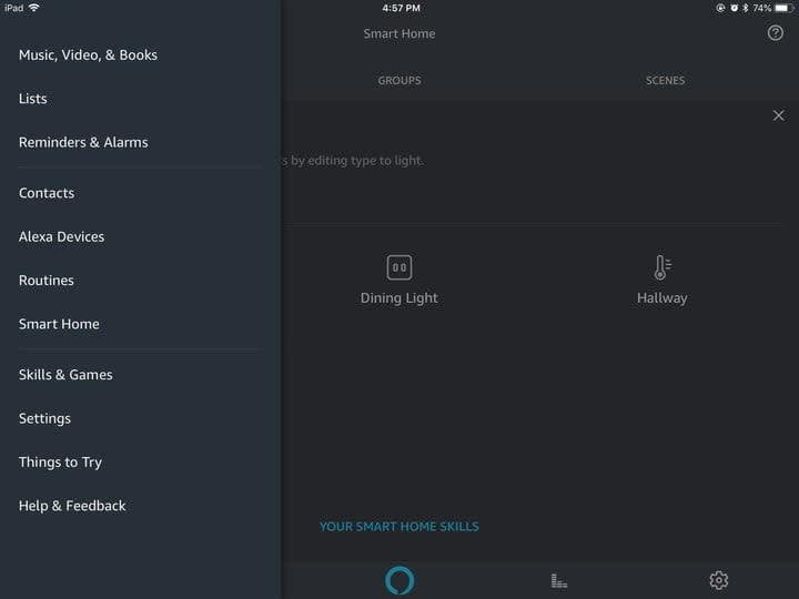 Alexa Smart Devices
