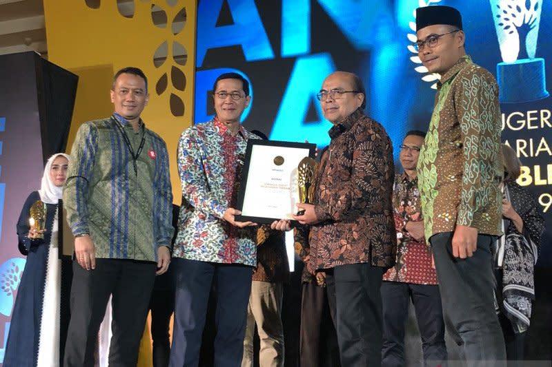 BAZNAS raih penghargaan lembaga zakat pelayanan terbaik