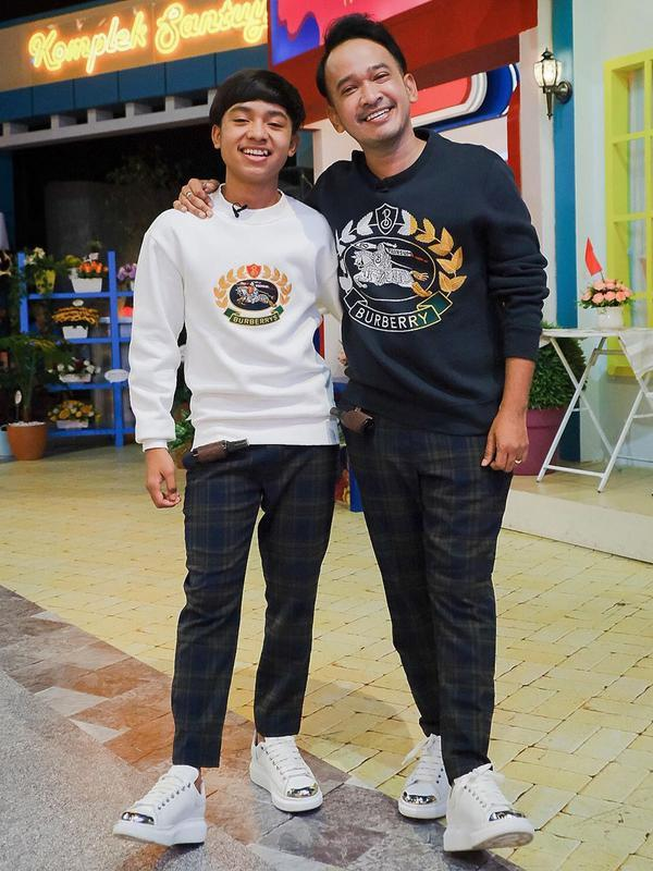 Ruben Onsu dan Betrand Peto (Sumber: Instagram/ ruben_onsu)