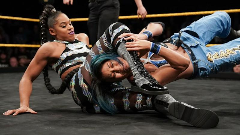 NXT star Bianca Belair. (Photo courtesy of WWE)