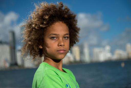 Levi Draheim is the youngest of 21 plaintiffs in legal action launched in 2015 by two associations, Our Children's Trust and Earth Guardians, against the US government -- a case now stalled in the courts for years