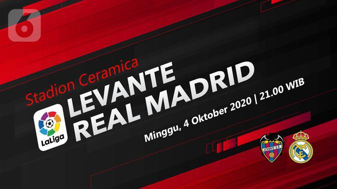 Levante vs Real Madrid (Liputan6.com/Abdillah)