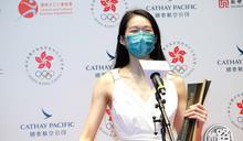 【傑運直擊】江旻憓「希臘女神」打扮襯背景 奪八傑兼新設特出表現獎