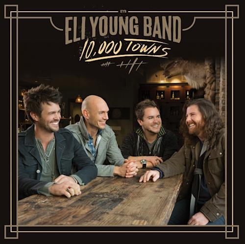 "This CD cover image released by Universal Republic shows ""10,000 Towns,"" the latest release by The Eli Young Band. (AP Photo/Universal Republic)"