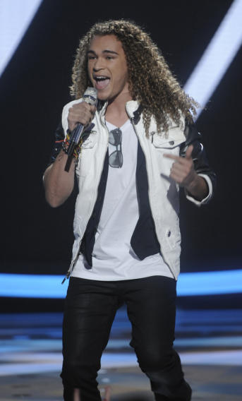 "DeAndre Brackensick performs ""Only The Good Die Young"" by Billy Joel on ""American Idol."""