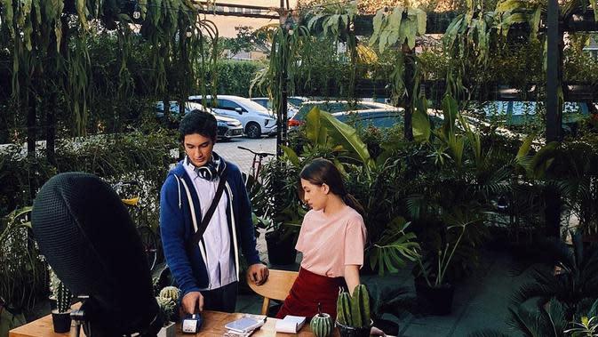 Adhisty Zara dengan Junior Roberts (Sumber: Instagram/zaraadhsty)