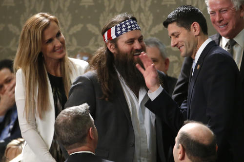 'Duck Dynasty's' Willie Robertson: The True Star of the State of the Union Address